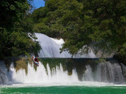 Jeff Clewell kayaking Micos Mexico