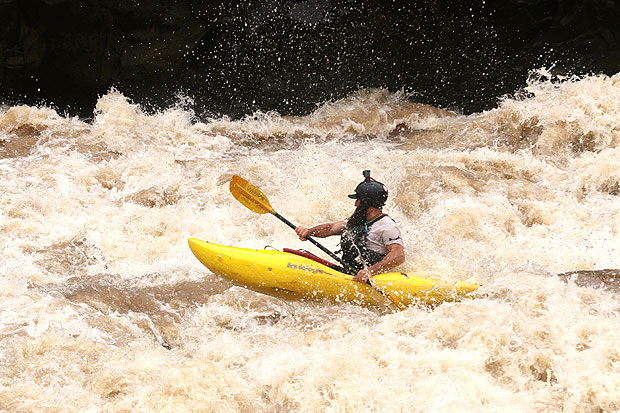 Kayaking the Zambezi Narrows