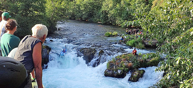 White Salmon River Fest Kayak Race