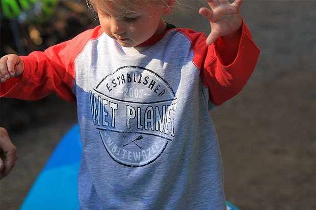 Wet Planet Classic Baseball Tee Whitewater Clothing