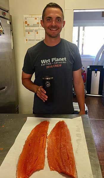 Wild Columbia Salmon Farm to Table