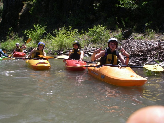 Kayaking down the Klickatat River with Wet Planet