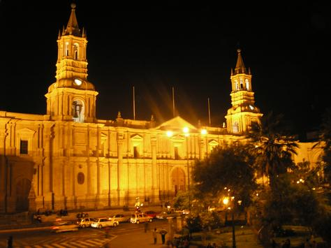 Plaza de Armas Cathedral