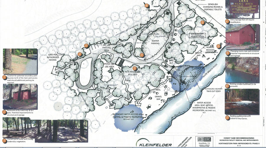 Proposed Plan for Northwestern Lake on the White Salmon River post-dam removal