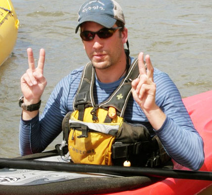 Curt Joyce, Wet Planet Kayak Instruction Staff