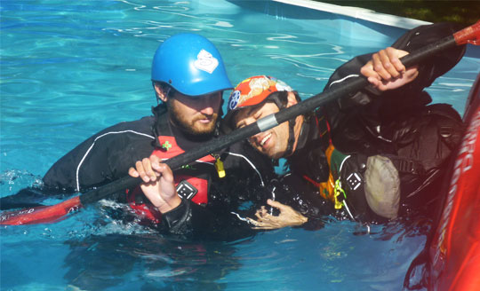 A kayak instructor that is committed to kayaking often helps students learn the sport better.