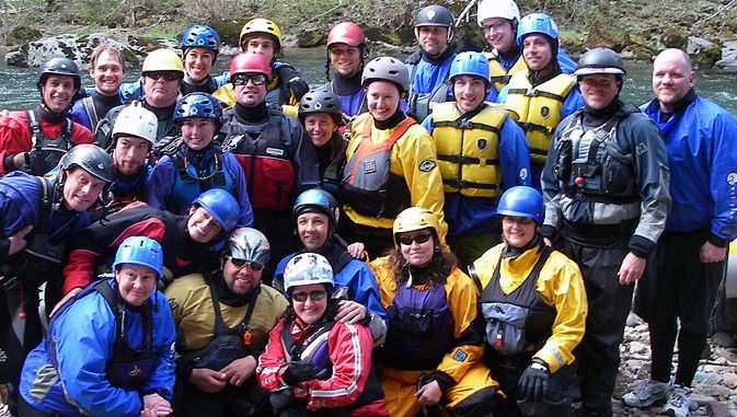 Our guide school becomes just an extension of our rafting family.