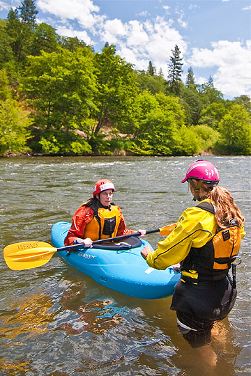 Kayak courses all year long with Wet Planet Kayak School