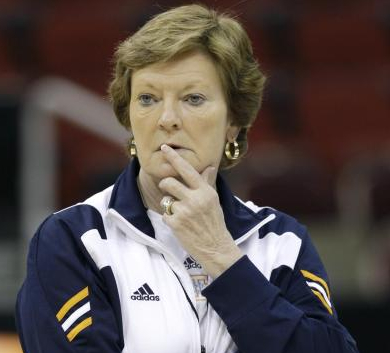 Pat Summitt will have a legacy unmatched by any other basketball coach in the NCAA.  Photo: USAToday.com