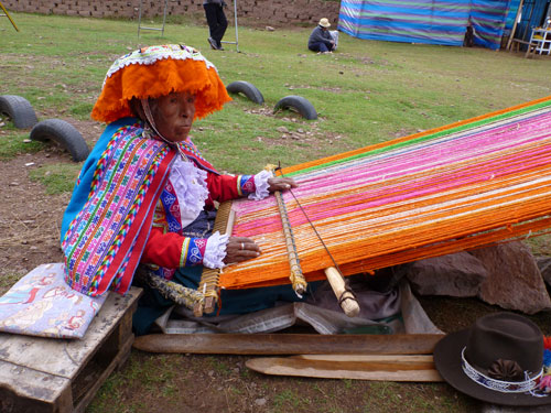 Artisan markets help local Peruvians make a living and maintain their cultural identity