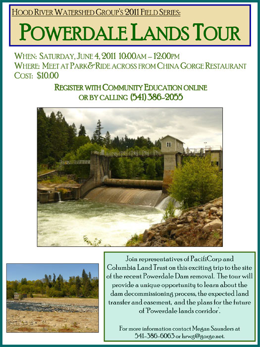 Powerdale Lands Tour hosted by Hood River Watershed Group
