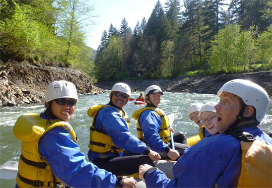 When they understood the newly free-flowing nature of the river, they were surprised!