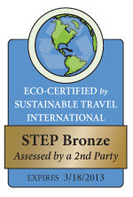 Sustainable Travel International's 2nd Party Evaluation Award