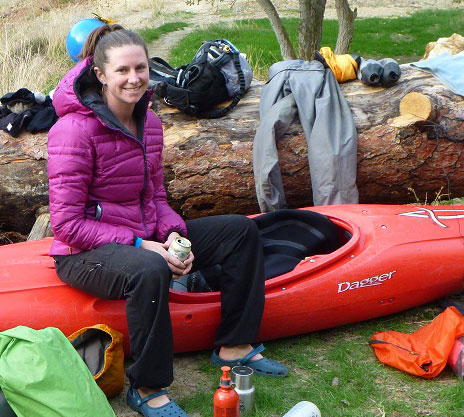Susan Hollingsworth, Wet Planet Kayak Instruction Staff