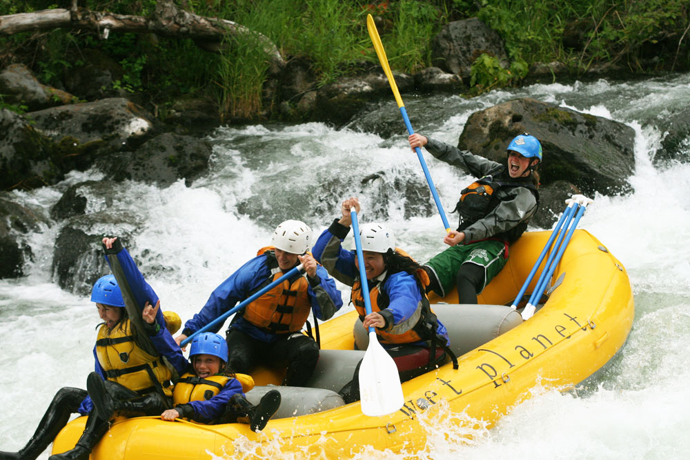 The experience of enjoying American's great outdoors is what makes a guest a life-time whitewater addict.