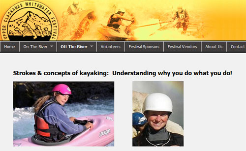 Join Heather and Susan for a FREE kayak instruction clinic sponsored by Wet Planet