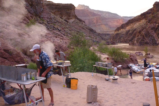 Multi day rafting down the Grand Canyon by Susan Hollingsworth