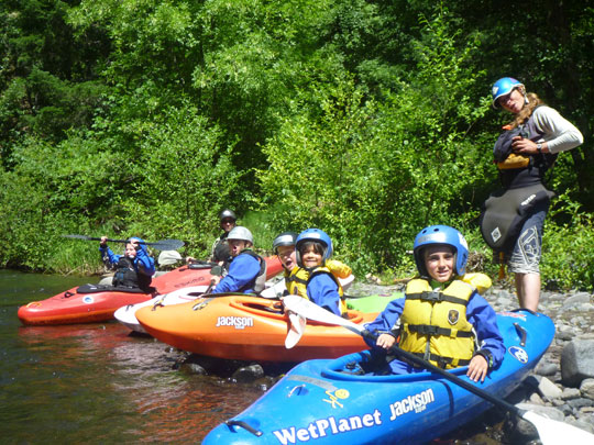 Kid's Kayak Course with Wet Planet Whitewater