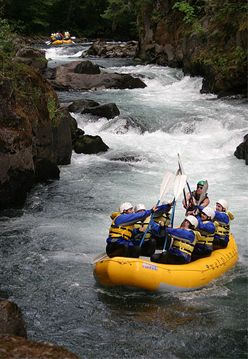 White Salmon River, Wet Planet Whitewater