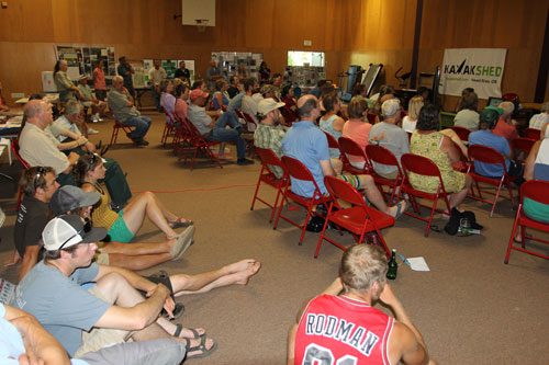 Riverfest Symposium draws large crowds eager for an update on post-Condit Dam removal.