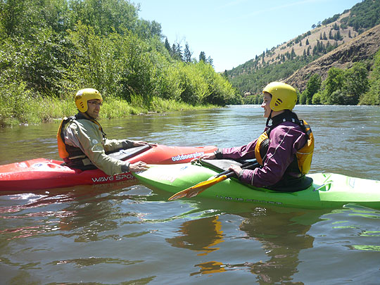 Beginner Wet Planet Kayaking Students July 2 and 3rd, 2010