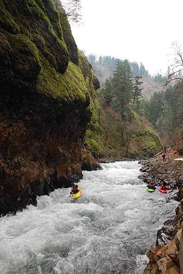 Damnation trip Lower Lower White Salmon River