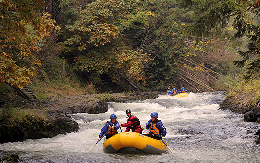 October rafting with Wet Planet
