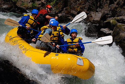 Oregon river rafting with Wet Planet