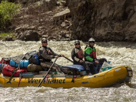 Whitewater Rowing and Paddle Raft Guide School
