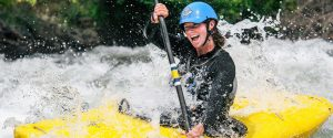 Beginner Whitewater Kayaking
