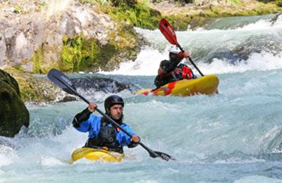 private whitewater kayak instruction in oregon and washington