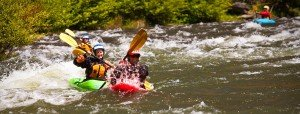whitewater river kayaking lessons portland oregon