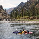 kayaking main salmon river