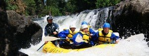 Farmlands guided river rafting trip