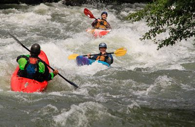 Kayak instruction classes in oregon and washington