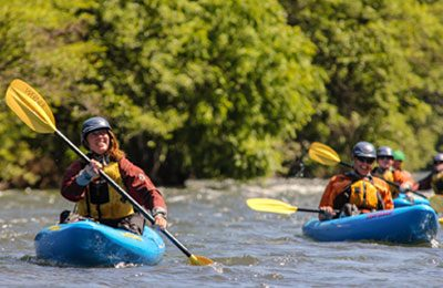 kayak adventure trips in oregon and washington