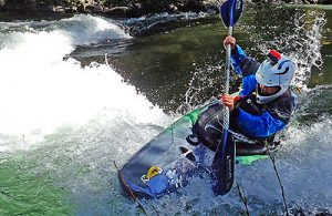 Intermediate white water class