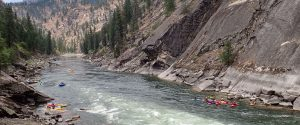 main salmon river kayaking trip in idaho
