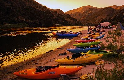Lower salmon River multi-day kayaking trip