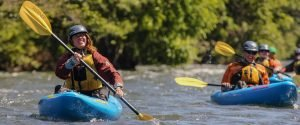 sit-on-top kayaking whitewater washington oregon