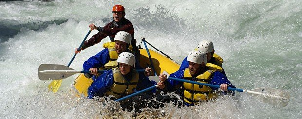 wind river washington whitewater rafting