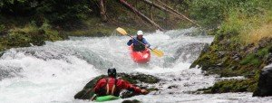 Pacific northwest creeking clinic and instruction