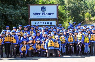 Group river rafting trips in oregon and washington