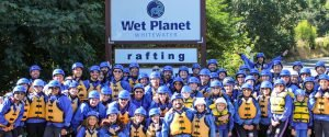 group white salmon river rafting trips in oregon and washington