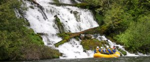 Klickitat river whitewater rafting in Washington