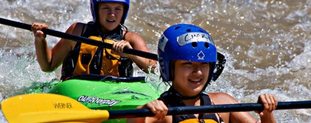 kayak lessons and instruction in oregon and washington