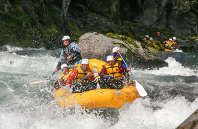 Wind River Rafting in Oregon and Washington