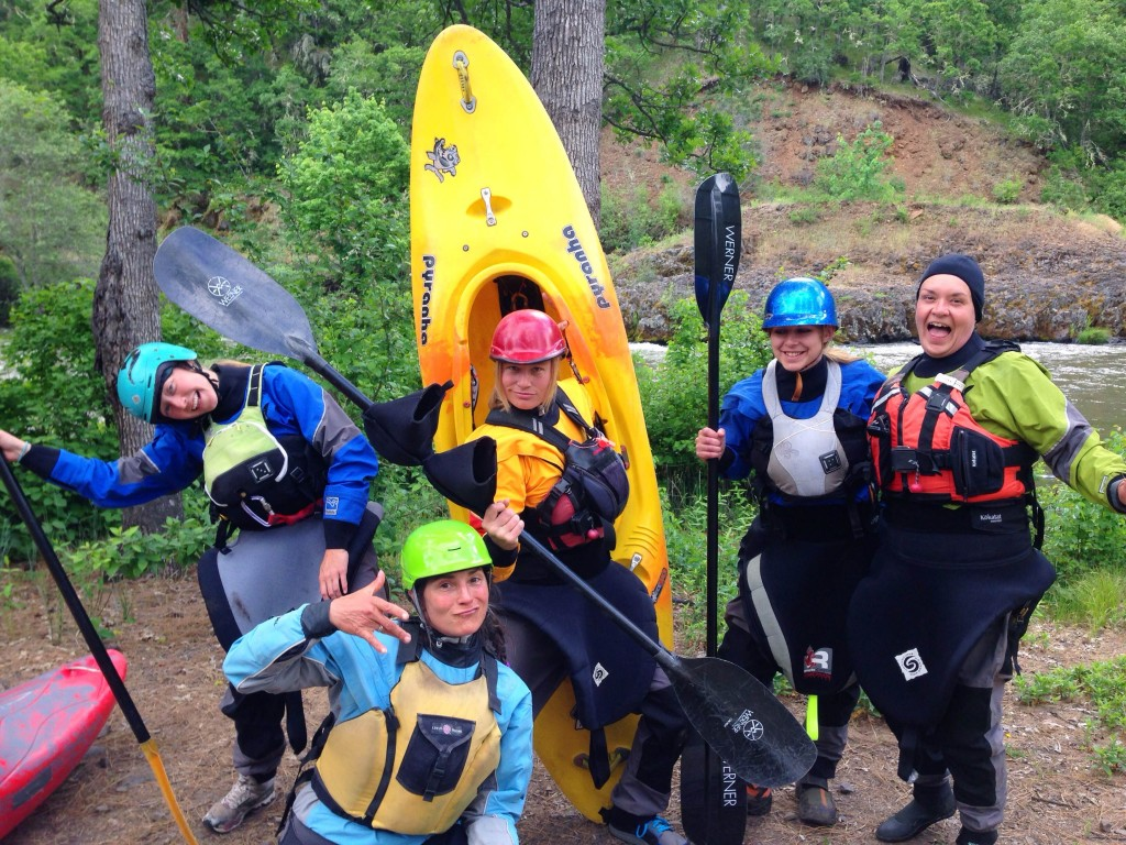 whitewater kayaking womens clinic