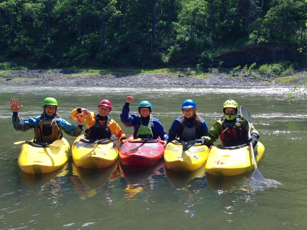 whitewater kayaking womens clinic wet planet