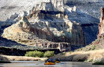 Owyhee river rafting trip in Oregon
